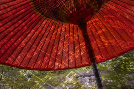 Small Red Umbrella